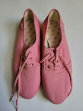Vintage Nike Sunburst Womens Sneakers Size 8 Pink Lace Up Casual Excellent cond