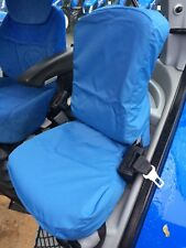 NEW Holland T6/T7/TSA PASSENGER SEAT COVER Royal Blu o Nero