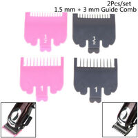 2Pcs Hair Clipper Cutting Guide Limited Comb Hair Trimmer Shaver Repla.kn