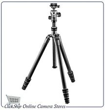 Gitzo GK1545T-82TQD Series 1 Traveler Carbon Fiber Tripod & GH1382TQD Ball Head