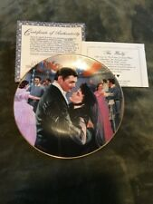 "Gone With The Wind Plate ""The Waltz"" With Certificate"