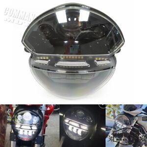 Motorcycle Headlight Assembly For Ducati Monster 695 696 795 796 1100 1100S &EVO