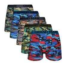 Boxershorts Herren 5er Pack Camouflage Baumwolle Unterwäsche Unterhose Gr. M-3XL