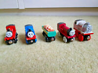 THOMAS & FRIENDS Fossil Car, James Lights & Sounds, Stanely, Rheneas BRIO VGOOD