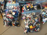2kg (x1700peices!) LEGO Bulk Creativity Packs. Great Mix! Learn Build Create!