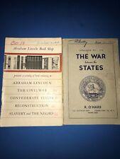 2 Civil War Book Dealer Catalogs from 1950