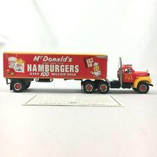 1998 Matchbox Diecast 1955 McDONALD's Tractor Trailer + COA DYM34577 1:50 Scale