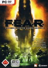 PC DVD-ROM FEAR FIRST ENCOUNTER ASSAULT RECON 18+ SIERRA ED.SPRA GIOCO COMPLETO