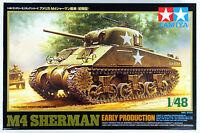 Tamiya 32505 US Medium Tank M4 SHERMAN Early Production 1/48 scale kit