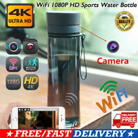 WiFi 1080P HD Sports Water Bottle Hidden Camera Video Recorder Cup
