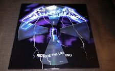 METALLICA-RIDE THE LIGHTNING,LP PICTURE