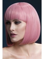 Pastel Pink Fever Elise Wig, 13in/33cm Adult Womens Smiffys Fancy Dress Costume