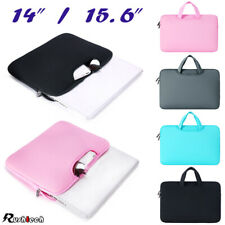"""14"""" 15.6 Universal Laptop Sleeve Case Carry Bag for Macbook Air Pro Lenovo Dell"""