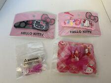 New Hello Kitty Hair Clip Elastic Bands Sanrio
