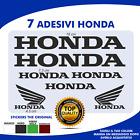ADESIVI HONDA KIT 7 STICKERS LOGO colore NERO Scooter / moto Accessori moto colr