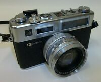 Yashica Electro 35mm SLR Film Camera with 45mm Lens
