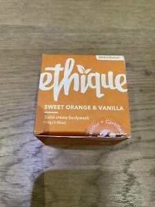 Ethique Sweet Orange And Vanilla Cream Bodywash Bar 110g