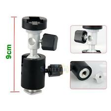 Adjustable Hot Shoe Flash Brackets Umbrella Holder Mount 360° Swivel for Camera