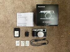 Fujifilm X100T 16.3 MP Compact Digital Camera - Silver