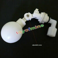 NEW Mini Adjustable Plastic Float Valve for Aquarium Water Tank Pond Auto Filler