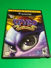 🔥 NINTENDO GAMECUBE 🔥 SPYRO THE DRAGON - ENTER THE DRAGONFLY 💯 COMPLETE GAME
