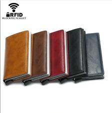 Aluminum Metal Mini Credit Card Wallet Men Women Smart Wallet Card Holder RFID