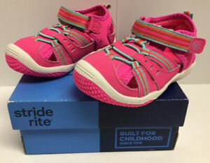 Stride Rite Baby Petra Pink Multi Toddler Girl Sz 6 W Athletic Sandal