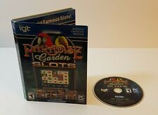New ListingIgt Slots: Paradise Garden Pc Cd-Rom 2013 Windows Mac casino slot machine game