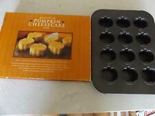 New listing Mini Pumpkin Cheesecake Pan by Williams Sonoma