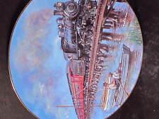 Hamilton 1995 Historic Railways Xaras RAILS BY THE SEASHORE Train Ltd Ed Plate