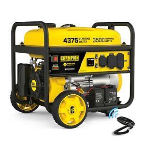 Champion Portable Generator RV Ready Wireless Remote Start 4550/3650 Watt CARB