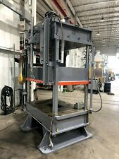 50 Ton Hydraulic Press Frame Excellent Condition 60 X 48 Bed Area