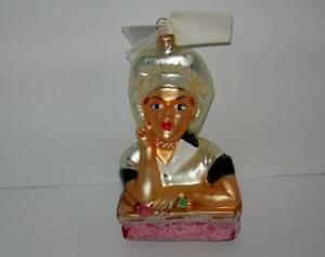 CANDY MAKER (GLASS CHRISTMAS ORNAMENT)  CHRISTOPHER RADKO BRAND NEW