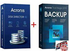 Acronis Disk Director 12 & Acronis True Image 2019 (boot) Lifetim