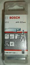 Bosch Hss 4 - 12mm Broca 2608597518 Larga Vida 5 paso