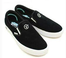 VANS Comfycush Slip-On Distort (Black)  Sneakers Size 10.5 M / 12.0 W