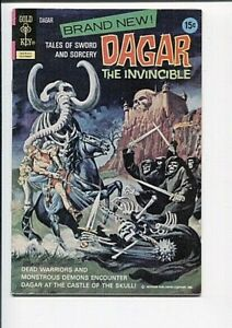 DAGAR THE INVINCIBLE 1 VF+ ORIGIN FIRST APP. 1976