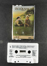 John Barry - Out of Africa (Music from the Motion Picture) (1985, Cassette)