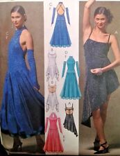 UC McCalls M5136 Sew Pattern Dance Costume Tango Glove Dress Ballroom Jazz Salsa