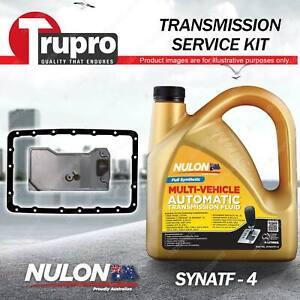 SYNATF Transmission Oil + Filter Service Kit for Jeep Cherokee Sport 6Cyl 4.0L