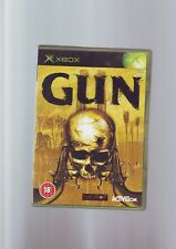 Gun-WESTERN FPS Shooter GTA à cheval-XBOX GAME-ORIGINAL & complet très bon état