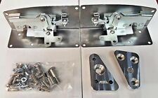 1953-1956 Ford pickup / Ford truck Bear Claw Latch Kit PLAIN STEEL