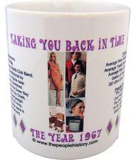 1967 Year In History Coffee Mug Includes Gift Box Born In 1967 Birthday Gift