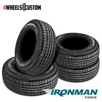 4 X New Ironman RB-SUV 255/65R18 111T IRON RB SUV Tires