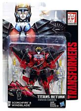 Hasbro Transformers Titans Return W3/17 Deluxe Windblade In-stock