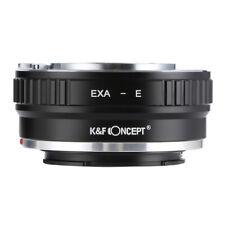 K&F Concept Adapter for Exakta EXA Lens to Sony E NEX A7R A7S A7A7II A6300 A6000