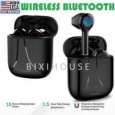 Wireless Earbuds Bluetooth 5.0 Stereo Headphones Waterproof In-Ear Pods Headset