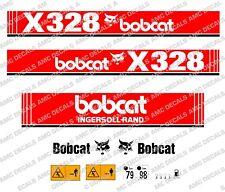 BOBCAT X328 Mini Escavatore YANMAR Serie decalco