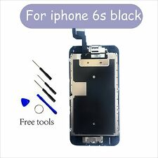 Apple LCD LENS+Screen Replacement Digitizer Full Assembly For iPhone 6s black