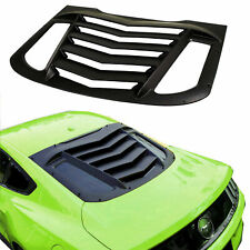 Rear Window Louver Sun Shade Cover in GT Lambo Style for Ford Mustang 2015-2019